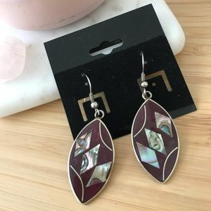 Jewelry - Purple stones droplet Earrings